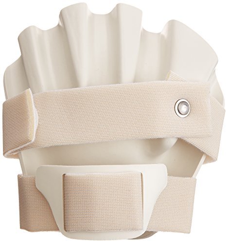 Rolyan Hand-Based Anti-Spasticity Ball Splint, Stabilizer Splint with Palm Arch for Fingers, Thumbs, Wrist, Movement Immobilizer for Therapy, Rehabiliation, Recovery, Left, Small
