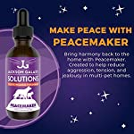 Jackson Galaxy: Peacemaker (2 oz.) - Pet Solution - Promotes Sense of Community - Can Reduce Aggression, Tension, Jealousy - All-Natural Formula - Reiki Energy 8