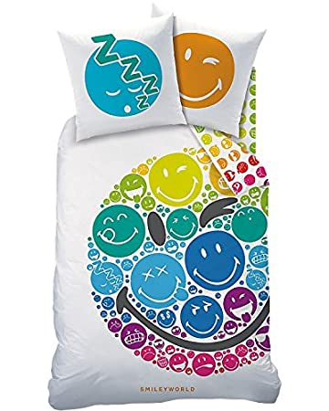 Smiley Teenager Bettwasche Kinderbettwasche Fur Madchen Jungen