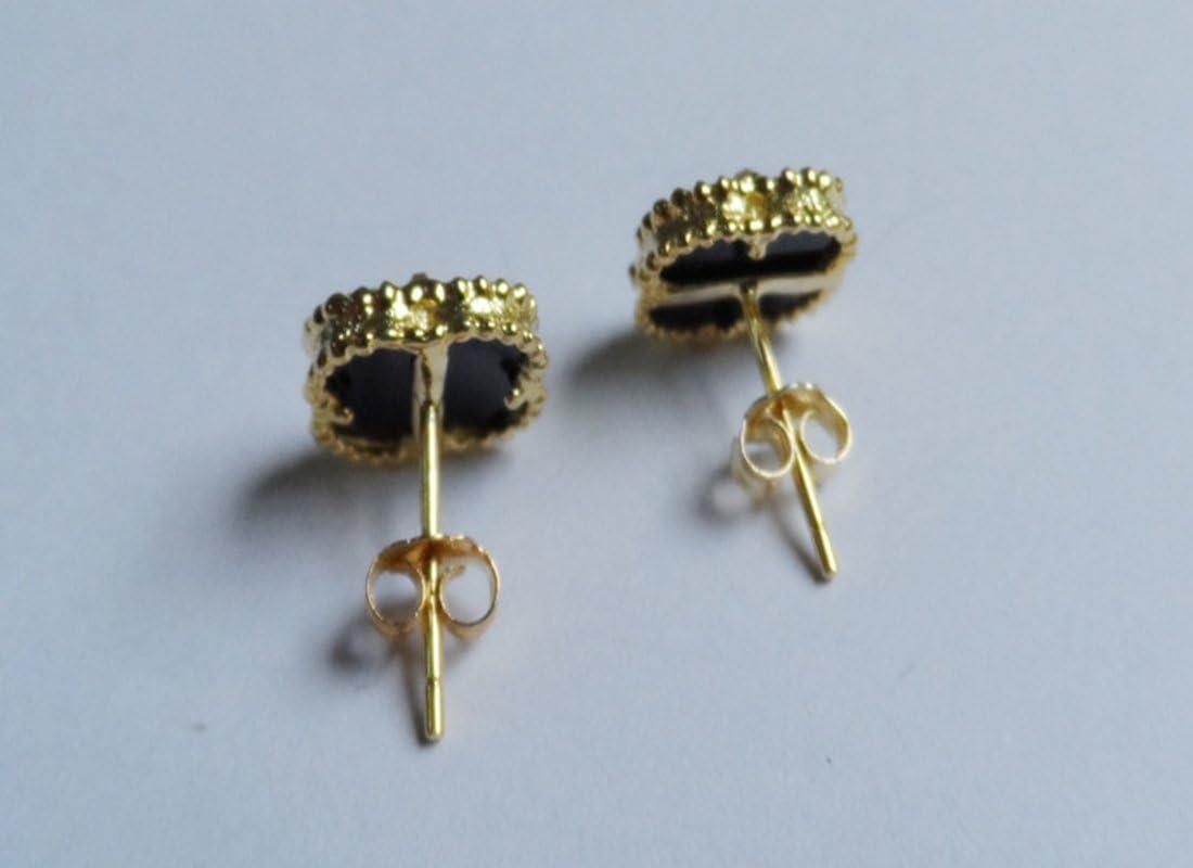 Milopon 100/X orecchino Stopper ohrstopper trasparente placcato oro placcato argento orecchini ad anello Chiusure rueckseiten silicone Stopper Vintage Parts per fai da te orecchini gioielli gold