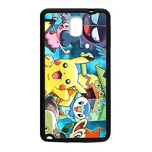 Adorable Pikachu para Samsung Galaxy Note 3 caso, impactos y arañazos celular Lightweigh con resistente y Material duradero