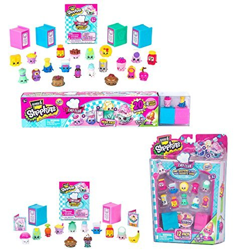 Shopkins Season 6 Chef Club Bundle of 2: Mega Pack + Shopkin