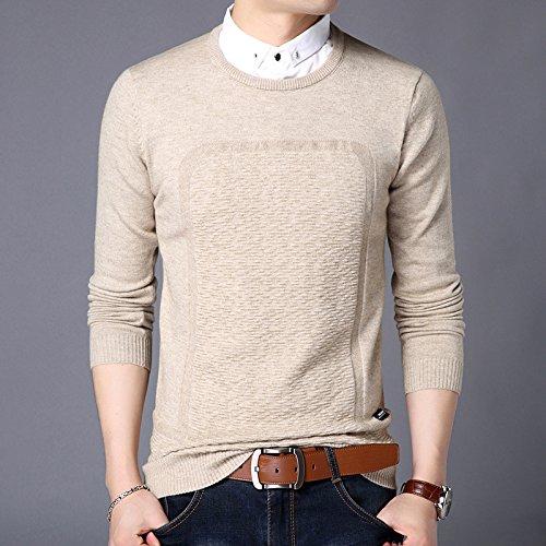 Jdfosvm männer - Pullover männer Pullover Winter Mode männer Pullover unterstützung,beige,hundert und 85