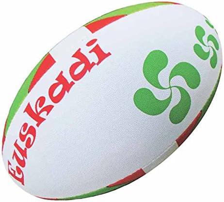 Vasca – Euskadi – Colección partidario balón de Rugby – tamaño 5 ...