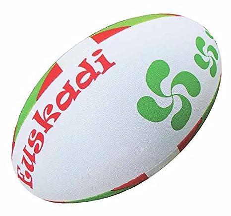 Vasca - Euskadi - Colección partidario balón de Rugby - tamaño 5 ...