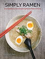 Make delicious and healthy homemade ramen noodle recipes fast and easy!Whether you are cooking for one or twelve, Simply Ramen brings homemade ramen to your table with a delicious fusion of seventy recipes, including soup bases, noodles, topp...