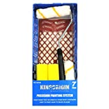 KingOrigin 30003w 4 inch Great Value Multi use mini roller trim kit 7 piece ,paint roller,paint rollers,paint roller cover,paint roller frame,foam paint roller,paint tray,paint grids,