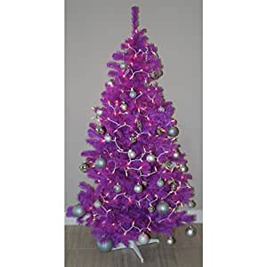 amazoncom purple trees seasonal dcor home kitchen - Purple Christmas Tree