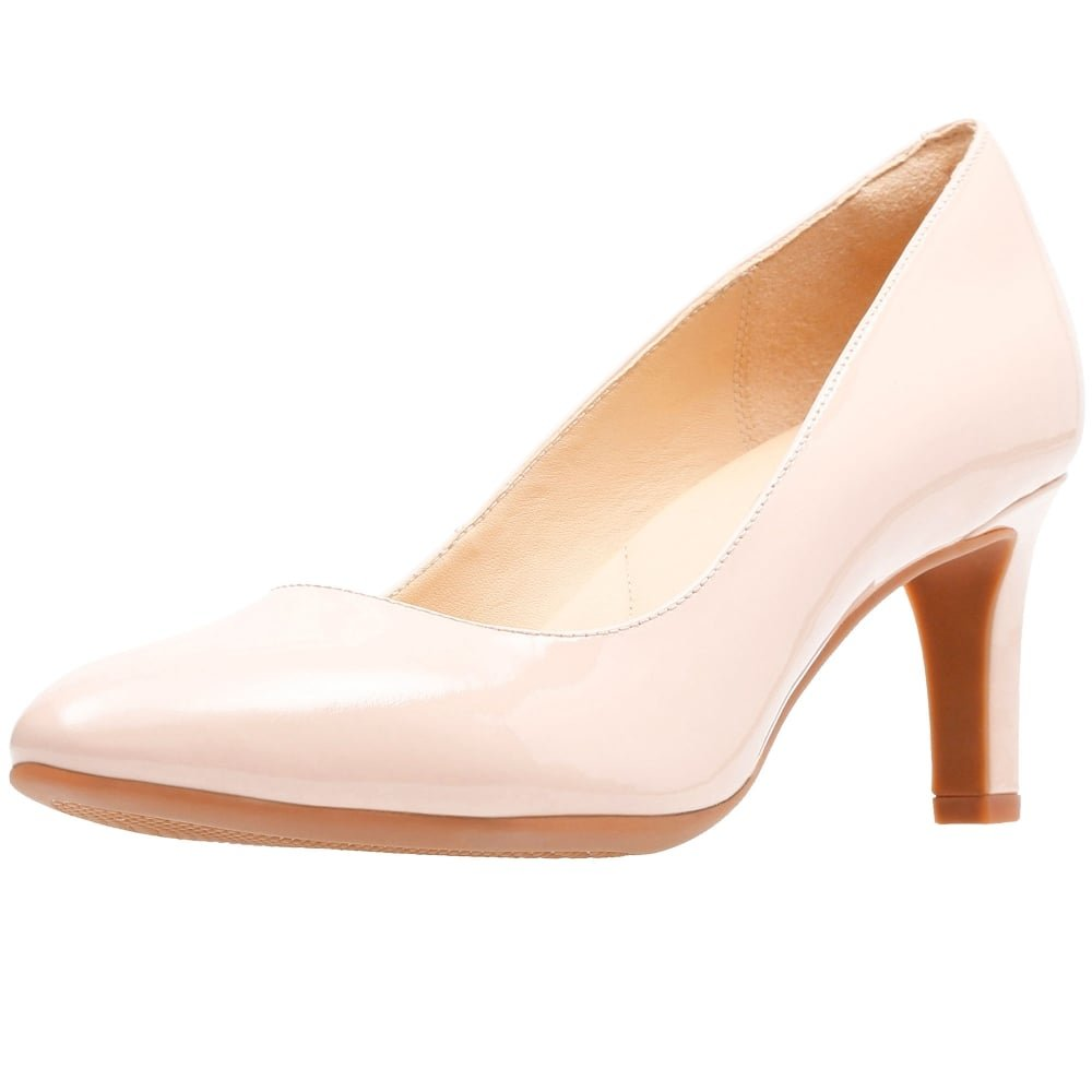 fb22455f89c2 Clarks Calla Rose Womens Wide Court Shoes  Amazon.co.uk  Shoes   Bags