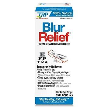 5b7daa17c52 Amazon.com  Blur Relief Homeopathic Eye Drops