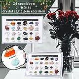 24 Pcs 2021 Advent Calendar Mini Size Natural