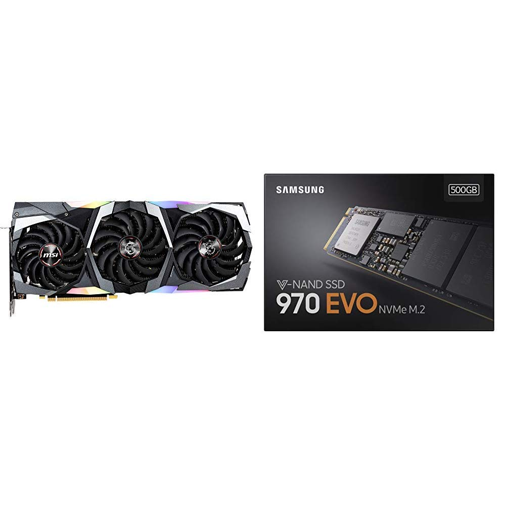 MSI V372-031R GeForce RTX 2080 Gaming X Trio Grafikkarte Schwarz