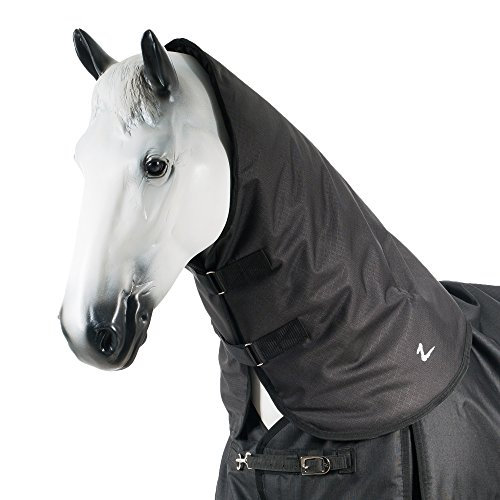 Horze Nevada 1200D Waterproof Turnout Neck Piece 200g Black Medium