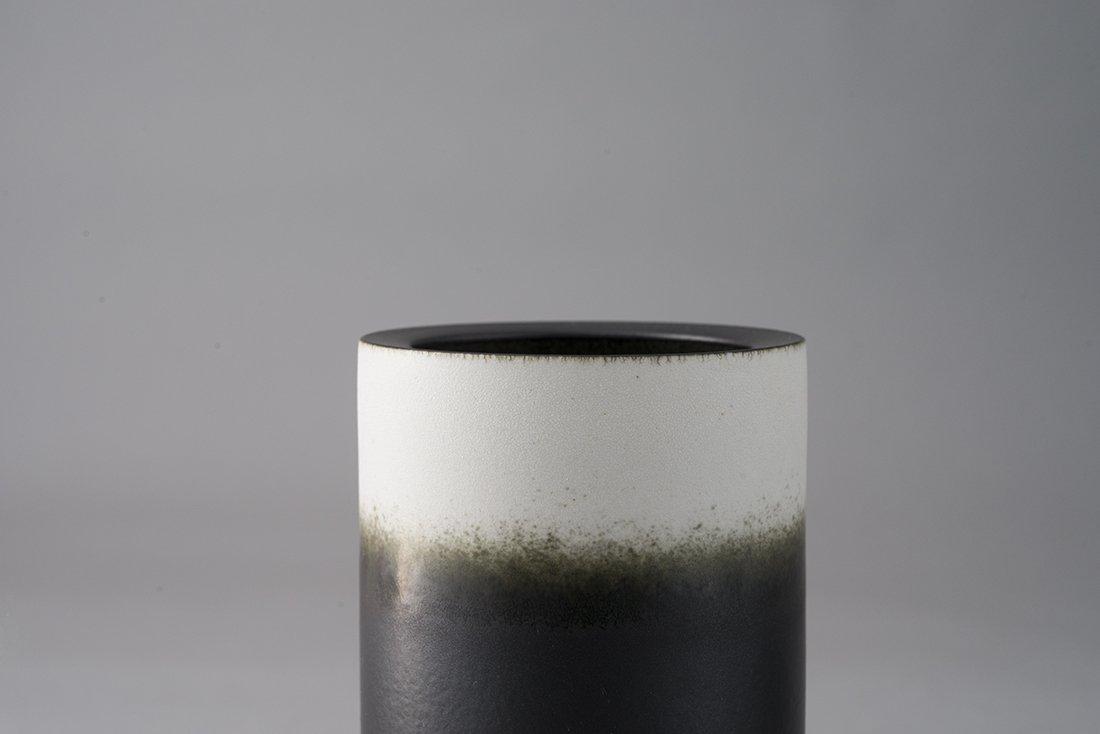Pangu Handmade Porcelain by a famous artist in Jingdezhen City【First love】2 piece decorative vase set (white) - 12''H x 8''D
