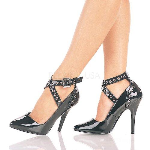 Pleaser - Zapatos de vestir para mujer negro Schwarz