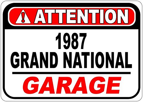 1987 87 BUICK GRAND NATIONAL Attention G - Buick Garage Shopping Results