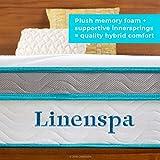 Linenspa 10 Inch Memory Foam and Innerspring Hybrid