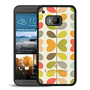 Newest Kate Spade HTC ONE M9 Case ,Popular And Unique Designed Kate Spade Cover Case For HTC ONE M9 Black Phone Case 264