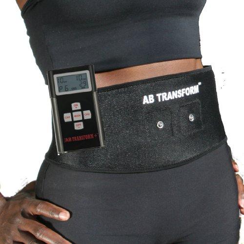 Muscle électronique de EverTone femmes Toner ceinture abdominale, Noir, Taille unique