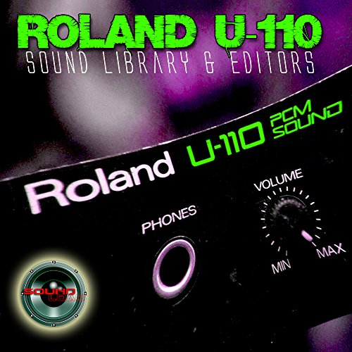 for ROLAND U-110 Huge Original Factory & new Created Sound Library & Editors on CD or download by SoundLoad