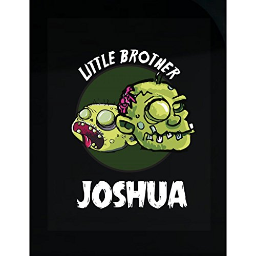 Prints Express Halloween Costume Joshua Little Brother Funny Boys Personalized Gift - Sticker