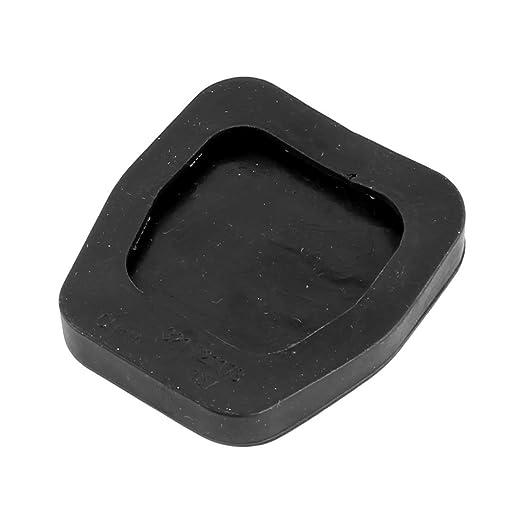 DealMux goma antideslizante auto del coche automático de frenos de gas pedal de embrague del cojín de cubierta 8 piezas Negro: Amazon.es: Coche y moto