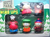 1998 South Park STAN KYLE KENNY CARTMAN CHEF Wind-Up Walkers Set offers