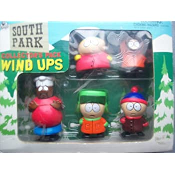 mirage toys series 1 south park 4 pack box set includes cartman stan kyle and. Black Bedroom Furniture Sets. Home Design Ideas