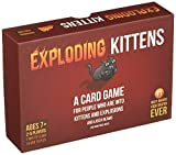 Exploding Kittens Card Game,Board Games,Family Games,Card Games,Friend Games,Party Games,Exploding Kittens Expansion Suitable for Kids 8-12,Families so on
