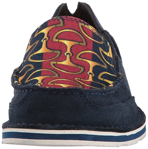 Earth Ariat Bits Fashion Cheetah Regular Cruiser Navy Sneaker Stripes Dark Women's gg7pw