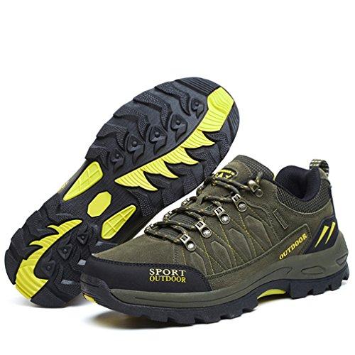 oscuro Unisex adulto de bajo XIGUAFR caño botas verde qTpBUp