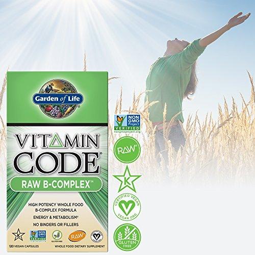 Garden of life vitamin b complex vitamin code raw b - Garden of life multivitamin review ...