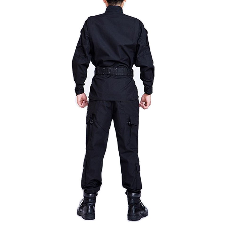Amazon.com: osdream Negro Tactical Suit/ropa/Pantalones al ...