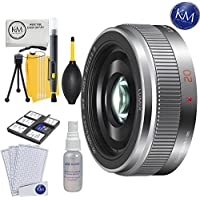 Panasonic 20mm f/1.7 ASPH Lens + K&M Lens Bundle