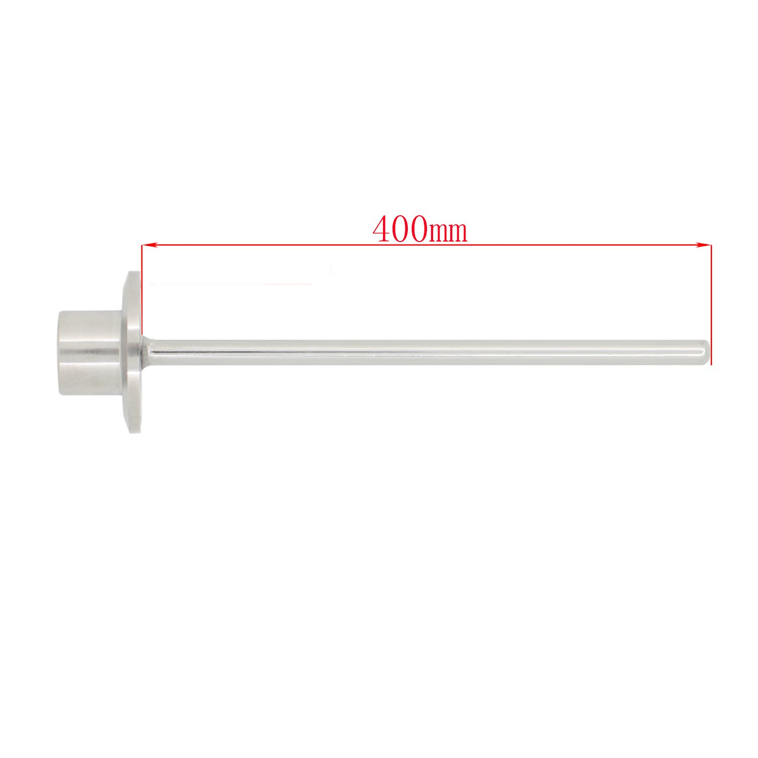 400mm 1.5 inch tri clamp thermowell with 1//2 inch Internal Thread 55mm 100mm 150mm 200mm 300mm 400mm 500mm
