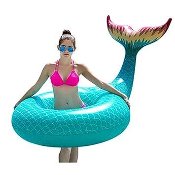 OGAWOO Flamingo Unicornio Flotadores Piña Anillo de natación Arco Iris Inflable Piscina Flotador Juguetes de Agua