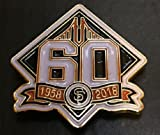 Baseball 2018 Giants 60TH Anniversary PIN World Series Champions Collectible PINPRE-Order Item - Shipping Begins August 28TH