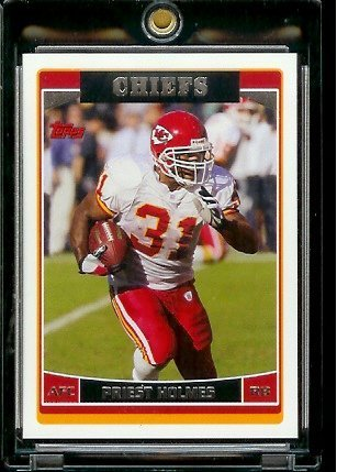 2006 Topps # 219 Priest Holmes - Kansas City Chiefs - NFL Football (Priest Holmes Kansas City Chiefs)