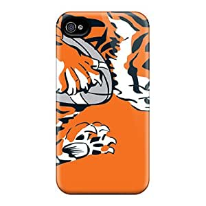 Hard Plastic Iphone 4/4s Cases Back Covers,hotcases At Perfect Cincinnati Bengals Customized