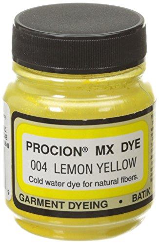 Daylight Jacquard Procion Mx Dye, 2/3-Ounce, Lemon Yellow - Dye Lemon