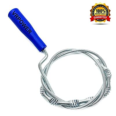 Drain Snake Hair Catcher, Premium Sink Dredge Pipeline Cleaner, Upgrade Metal Drain Cleaning Tool for Bathroom Tubs, Toilet, Sink, Clogged Drains & Dredge Pipe?30 inches?