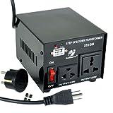 Goldsource STU-300 Step Up/Down Voltage Transformer Converter – AC 110/220 V – 300 Watt, Best Gadgets