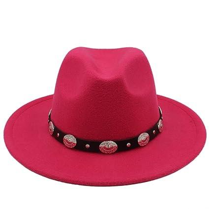 CP   YR Venta caliente Barato Unisex Lana Jazz Sombreros Sombrero de fedora  para hombre Sombrero de fieltro de mujer Sombrero de vaquero Panamá  Sombreros ... 3ae8f2e1b3f