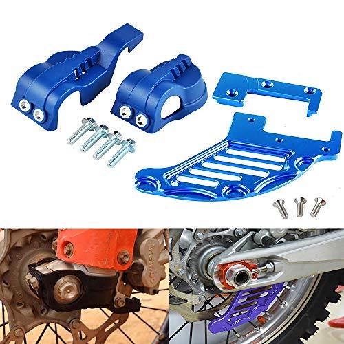 Star-Trade-Inc - Motorcycle Fork Shoe Cover Rear Brake Disc Guard Protector For Husqvarna TC/FC 2015 TE FE TC FC FX 125 200 250 350 501 - ()