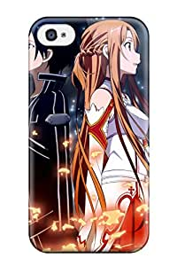 Sanp On Case Cover Protector For Iphone 4/4s (sword Art Online Girls Guys Anime)