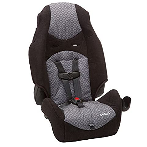 Cosco Highback 2 in 1 in Cam - Removable and Dishwasher Safe, Grey - Cosco Car Seat Base