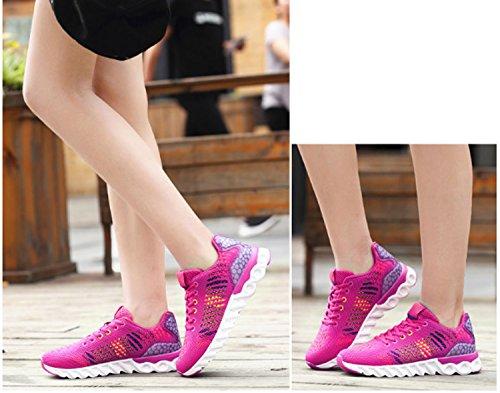 Aire Aire Escalada Escalada Deportes Zapatos y Mujer para para Baja de Rosado de al Mujer de Alpinismo Libre Zapatillas Libre para Senderismo Zapatillas de xnHFnZ