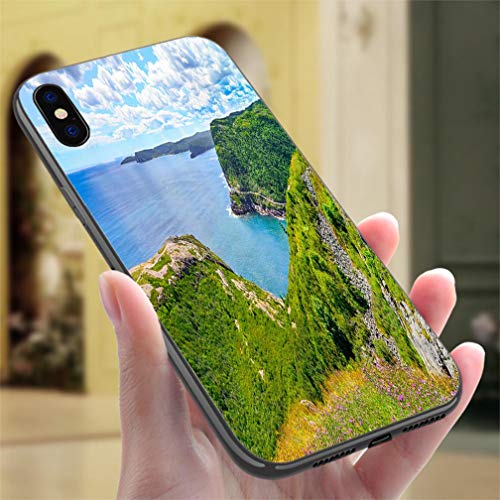 - Creative iPhone Case for iPhone X/XS Historic site Fort Amherst St Johns Newfoundland Cape Spear Background Resistance to Falling, Non-Slip,Soft,Convenient Protective Case