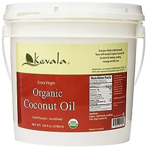 Kevala Organic Coconut Oil, 8 Pound
