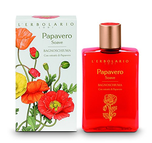 Papavero Soave (Sweet Poppy) Bath Foam by L'Erbolario Lodi